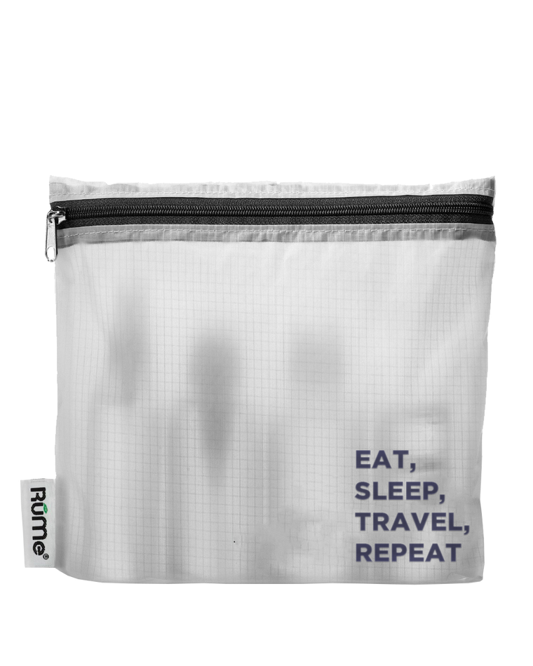 The Eat Sleep Travel Repeat Quart Pouch