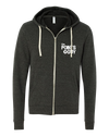 the Points Guy Charcoal Zip Hoodie