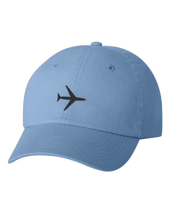 Plane Baby Blue Youth Hat
