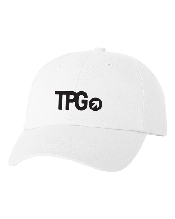TPG White Dad Hat