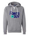 the Points Guy Grey Hoodie