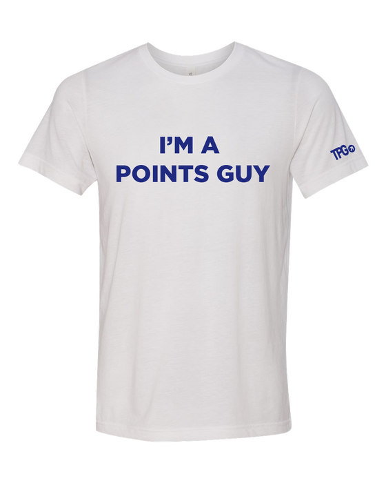 Points Guy White T-shirt