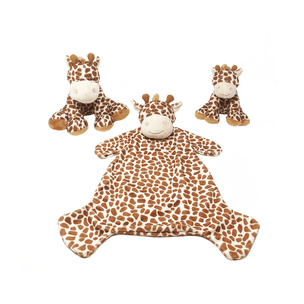 Giraffe Toy and Comforter Set