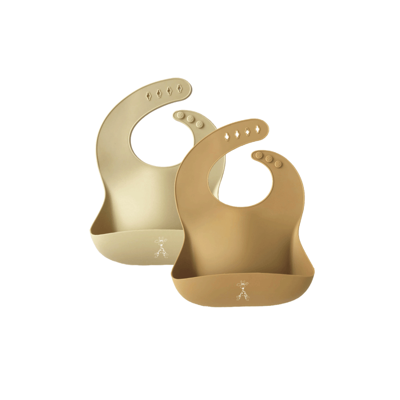 Silicone Bibs - Pack of 2
