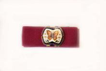 Butterfly Cloisonne Stretch Belt