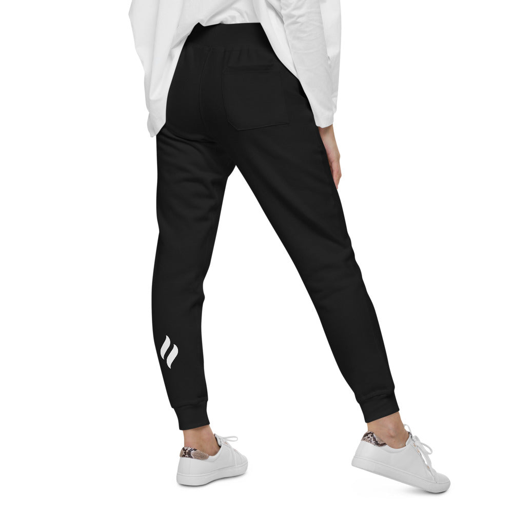 LIfe on Fire Flame fleece sweatpants