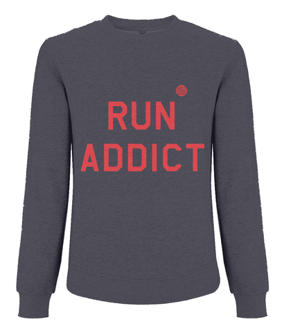 Girls Run the World Run Addict Sweat Shirt