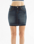 Indigo Denim Skirt