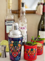 Folk Heart Cocktail Shaker Set