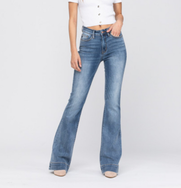 Rae Flare Denim Trousers
