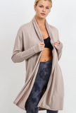 Yoga Cardigan - Almond