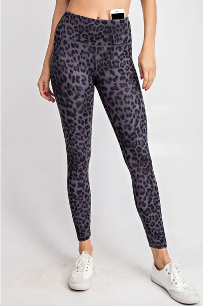 Wild One Leggings- Black