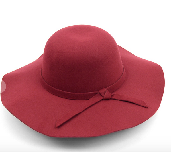 Floppy Hat - Burgundy