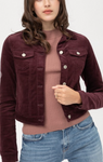 Keke Jacket - Burgundy