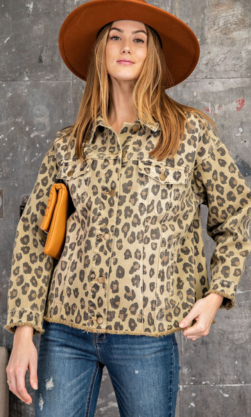 Indie Cheetah Jacket
