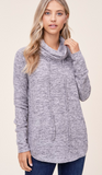 JoJo Top - Heather Grey