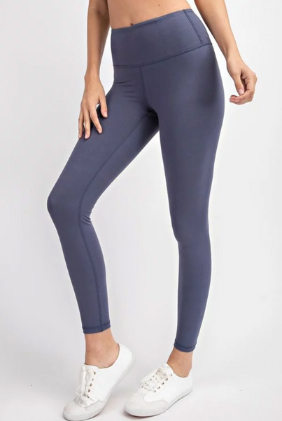 Humble Leggings-Denim Blue