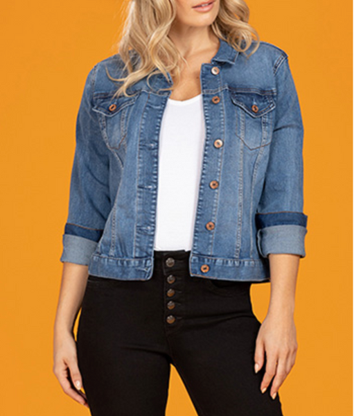 Classic Women's Denim Jacket