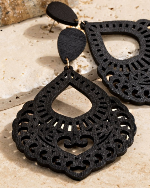 Felipe Earrings - Black