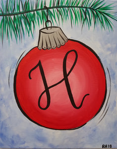 "Paint Night - ""Ornament"""