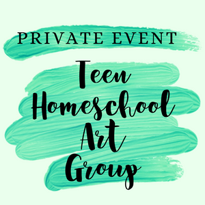 Private Homeschool Teen Art