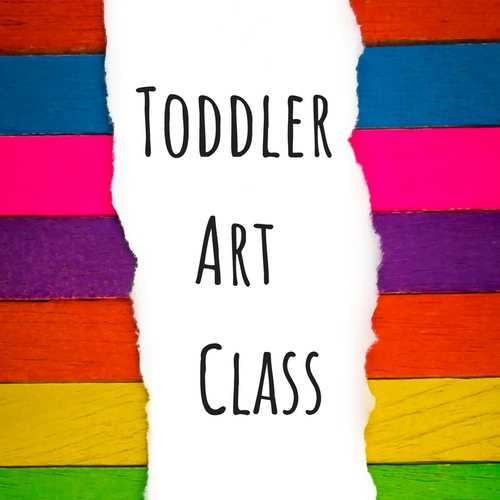 January Toddler Art Class