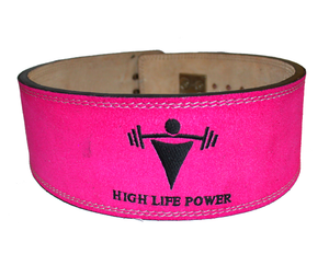 10mm Lever Belt - Small - Pink