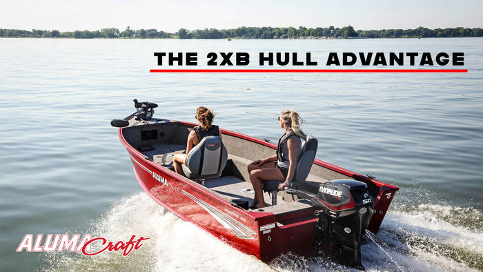 Stronger, Stiffer, More Responsive: The Alumacraft 2XB Hull Advantage