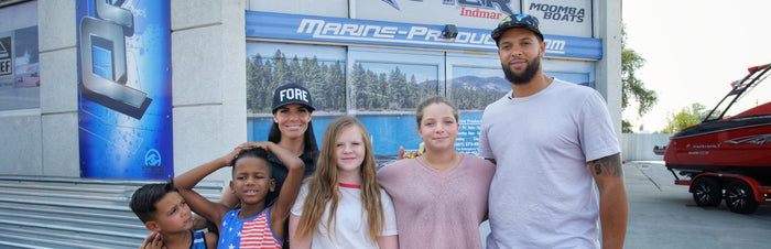 Deron Williams Joins the Marine Products Family with the Purchase of a New Supra SL 550