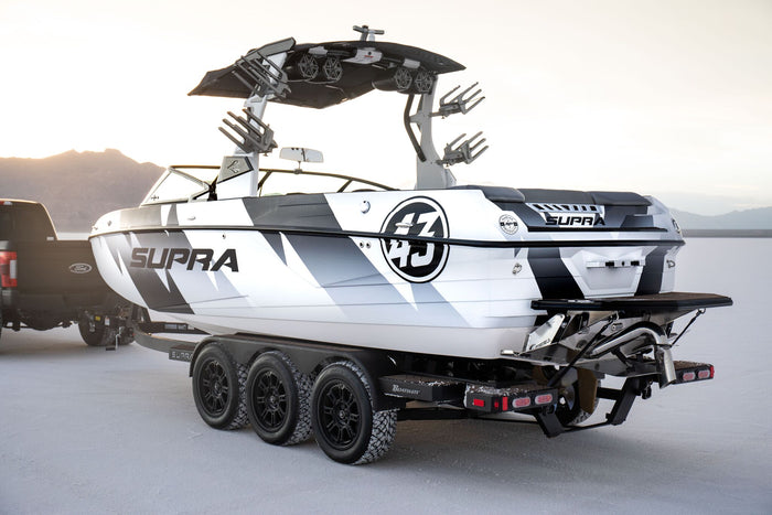 Boat Check: Ken Block's New, Custom Supra SL 550