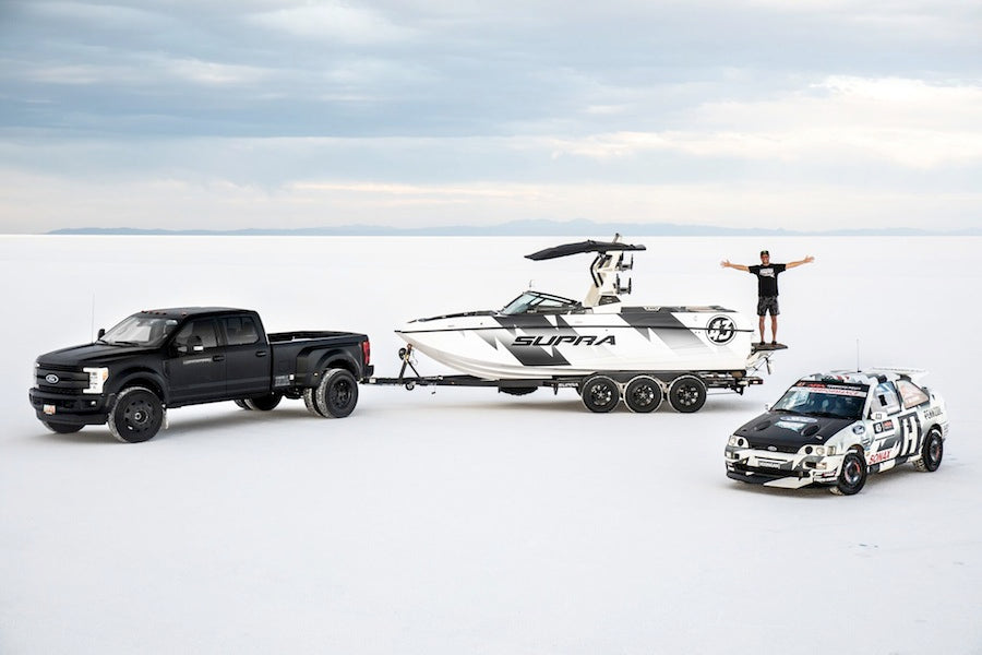 Ken Block Announces New Partnership With Marine Products And His Shift to Supra Boats