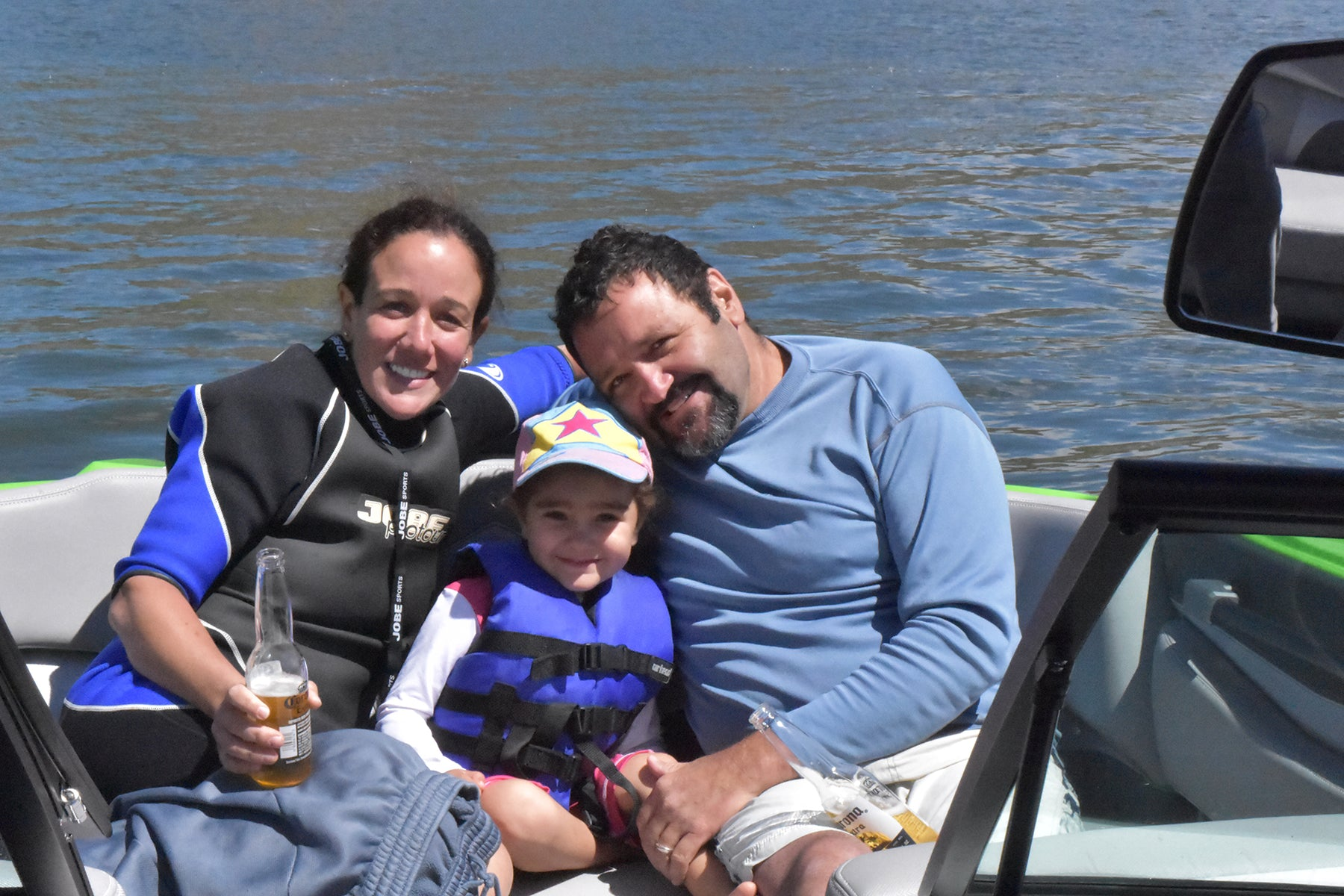 #WhyWeRide Giveaway Winners Enjoy a Day On The Lake With Marine Products
