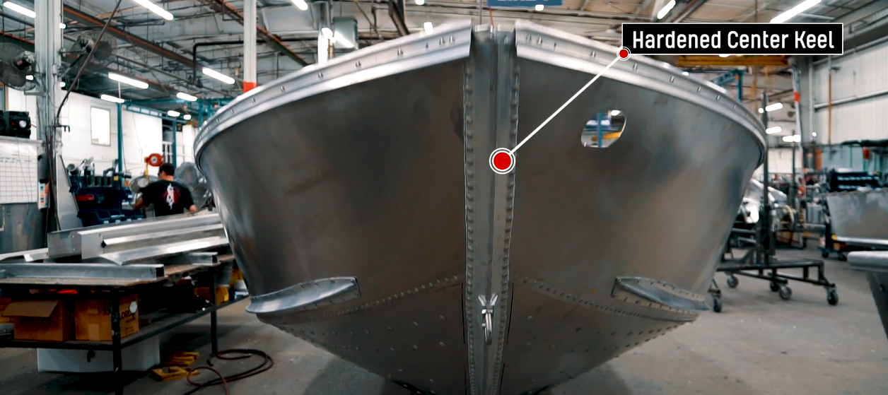 Hardened Center Keel