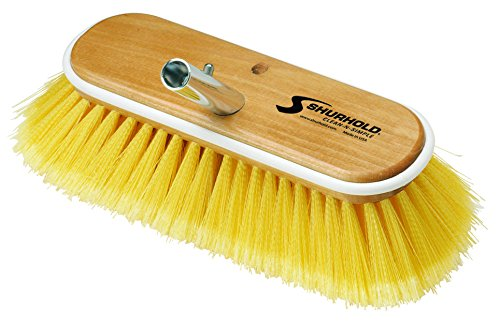 "Shurhold Deck Brush Soft Yellow 10"" 980"