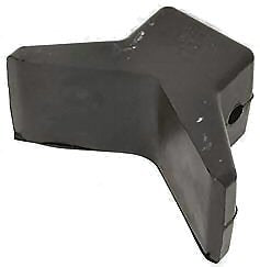 "Bow Stop 3""X3""X1/2"" Blk"