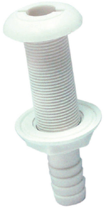 "Seachoice Thru-Hull Connector Extra Long 3/4"" White 50-18161"