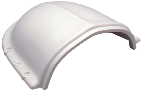 "Marinco Clam Shell Vent 2-1/2"" White N10873"