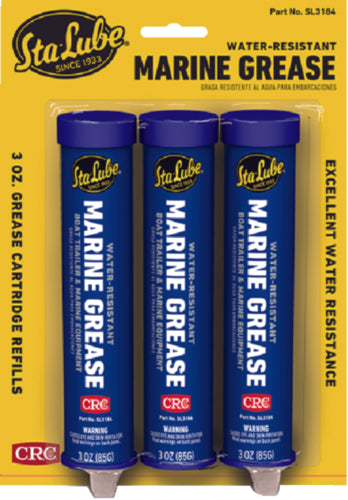 CRC Sta-Lube Multi-Purpose Grease 3oz 3-Pak SL3184