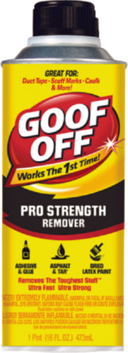 Damprid Goof Off Pro Strength Remover 16oz FG653