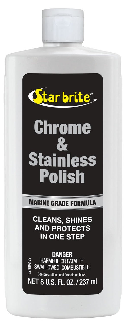 Starbrite Chrome & S/S Polish 8oz 82708