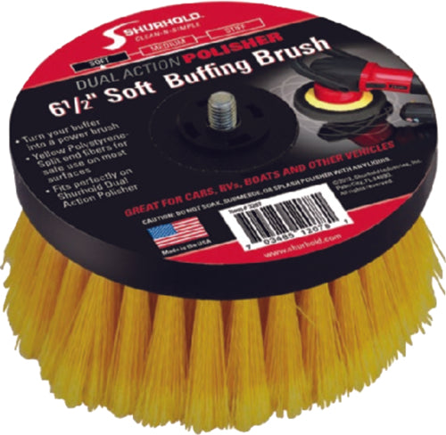 Shurhold Dual Action Polisher Scrub Brush Soft 3207