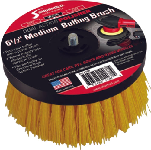 Shurhold Dual Action Polisher Scrub Brush Medium 3206