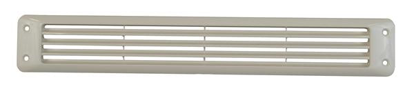 Attwood Louvered Vent Flush Mnt White 1425-5