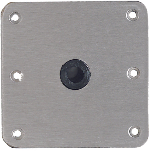 "SwivlEze Lock'N-Pin Seat Base Plate S/S 7""x7"" S/S SP-67739T"
