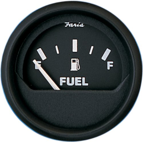 "Faria Euro Black Fuel Level 2"" (E-1/2-F) 12801"