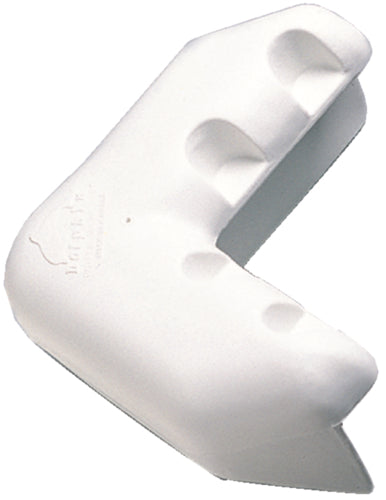 "Dock Edge Corner Bumper 9"" White 10571F"