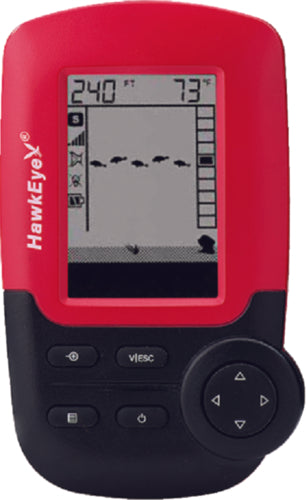 Hawkeye FishTrax 1 Portable Fish Finder w/VirtuView ICON FT-1-P