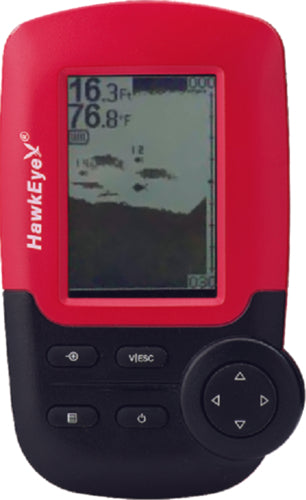 Hawkeye Fishtrax Handheld Portable Fishfinder FT-1-PX
