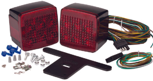 "Attwood LED Trailer Light Kit Sumbersible Under 80"" 14065-7"