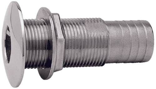 "Attwood Thru-Hull Connector 1-1/8"" S/S 66549-3"